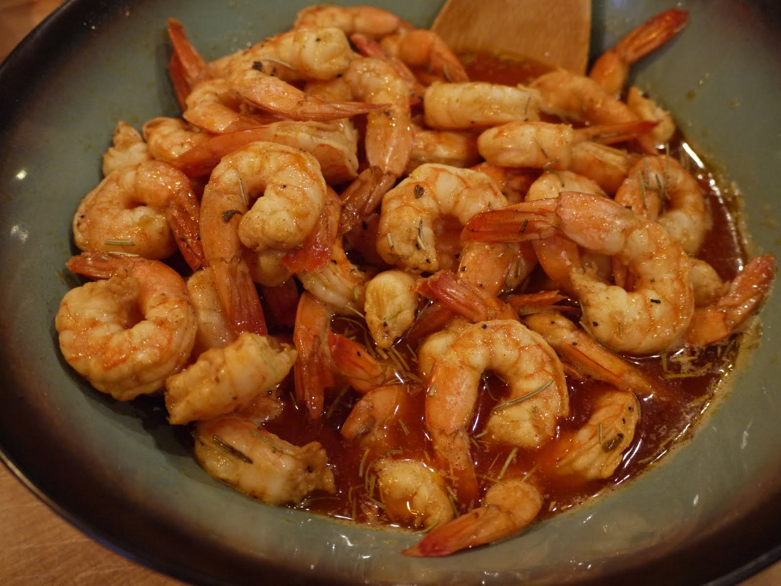 The Bad Girl's Kitchen: New Orleans-style Barbecue Shrimp