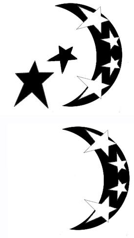 moon tattoos designs