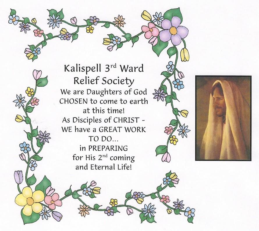 """Kalispell 3rd Ward - """"Sisters in Zion"""""""