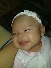 Afrina Huwaidaa'- 2 mth