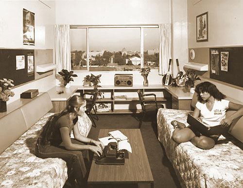 a ucla dorm room in 1984