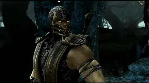 mortal kombat 9 sub zero vs scorpion. mortal kombat scorpion vs sub