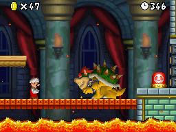 New Super Mario Bros Boss Battle