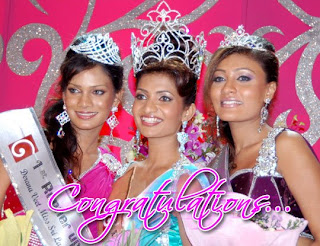 Derana Veet Miss Sri Lanka for Miss World 2009 - Gamya Prasadini takes the crown at Sandeshaya Sri Lanka