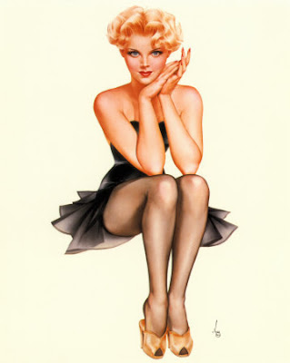 Pin Up Vargas. 1950s pin up girls