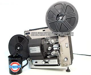 Film Projector. Image taken from http://www.oaktreeent.com/web_photos/8mm_Film/B&H_462A_8mm_Film_Projector_web.jpg