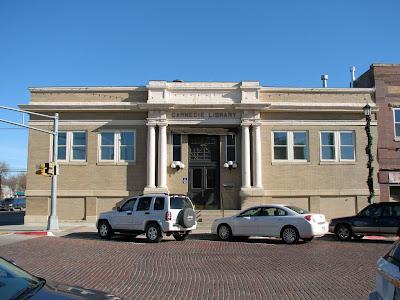 Carnegie Library in Seward, Nebraska. Image taken from http://www.airforcebase.net/personal/architecture/Seward_NE_Carnegie_Library_20081125_2.jpg