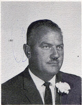 Robert Lemke, Principal of St John Elementary School in Seward, Nebraska. The image was scanned from the faculty page of the 1965-1966 yearbook.