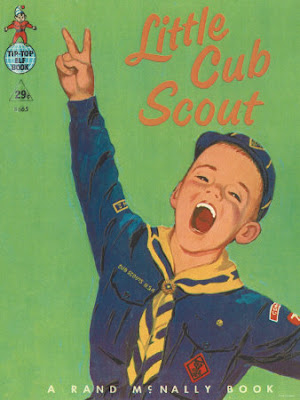 Cub Scout Book. Image taken from http://www.allposters.com/sp.asp?CID=0AA12A003EAE4D80A6371515ABBA6C43&search=&c=c&apnum=2833205&startat=