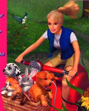 Barbie rescuing some animals. Image taken from http://danitaponcea.blogspot.com/
