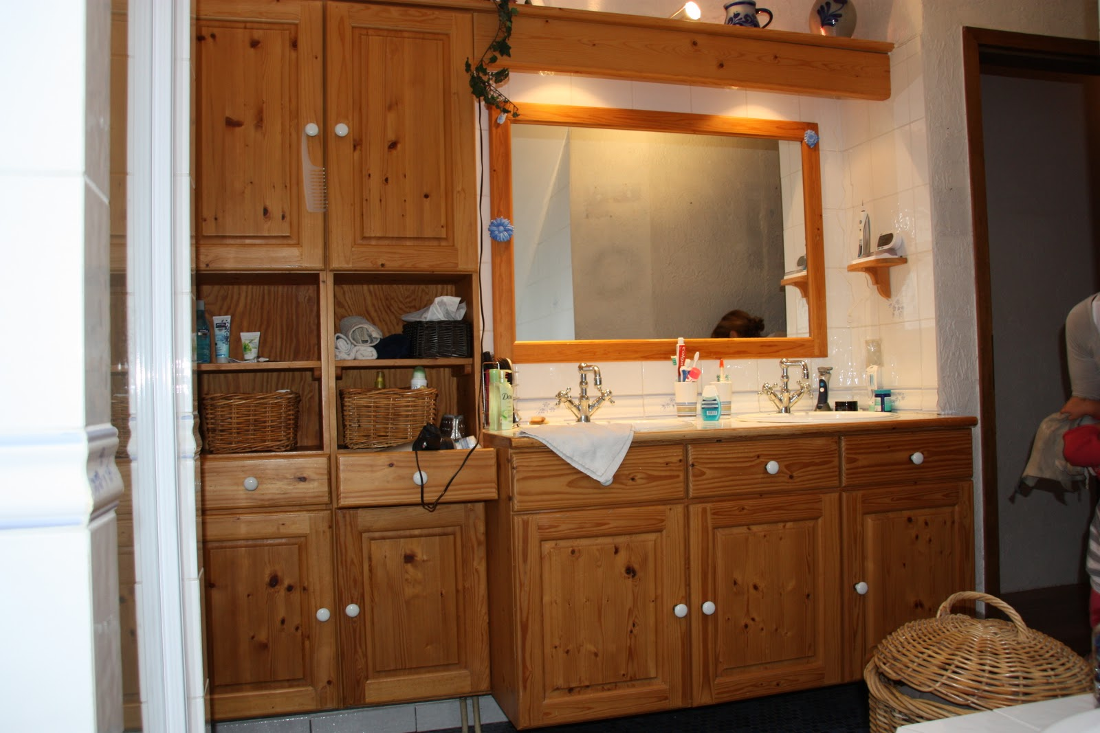 Décoration et architecture d'intérieur: meuble salle de bain avant ...