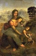 Santa Ana,Maria e O menino Jesus