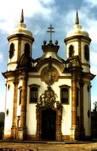 Uma das igrejas de Aleijadinho