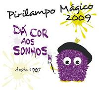 Cartaz do Pirilampo Mágico 2009
