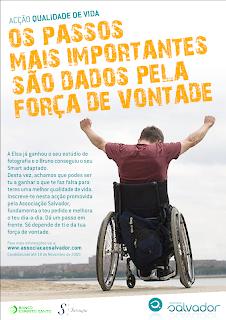 Cartaz da Associação Salvador
