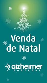 Cartaz da Venda de Natal da Alzheimer Portugal