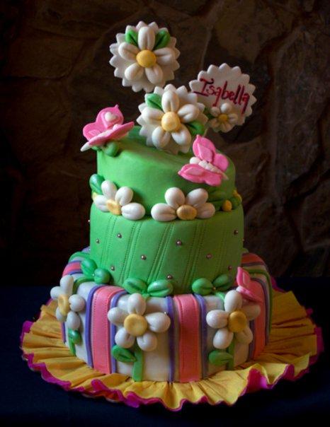 DecoCake's: Tortas de flores y mariposas