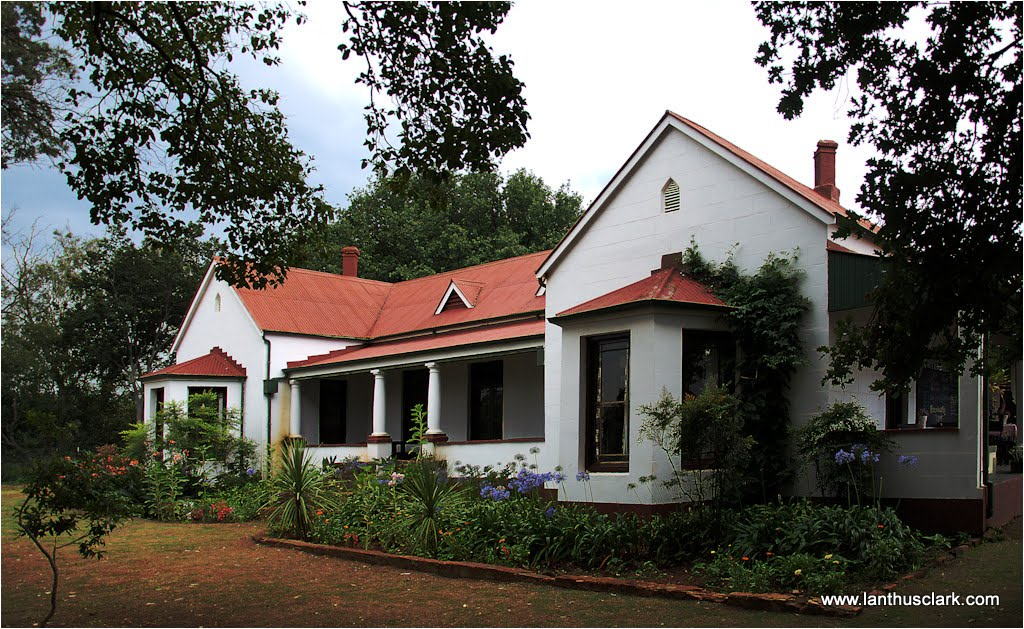 traditional south african farm house - Historic House Plans South Africa