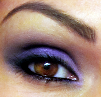 purple smokey eye MONDAY GOODNESS!