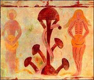 Ancient mushroom images