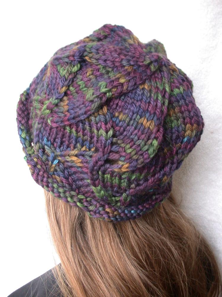 Knitting Pattern Swirl Hat : Rurification: Winter Project: Swirl Hat