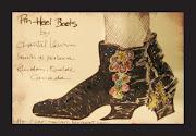 Pin Heel Boots