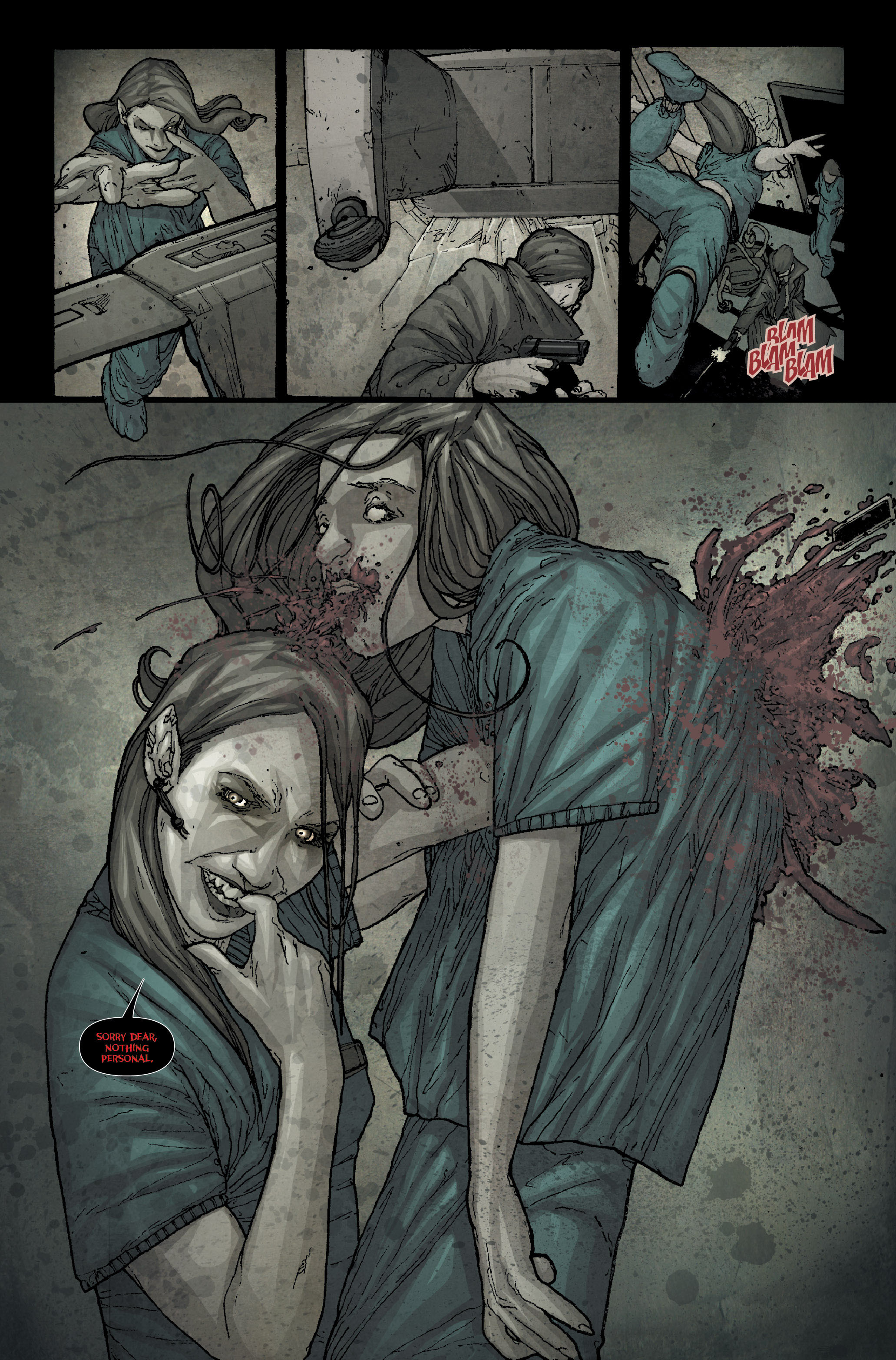 30 Days of Night: Spreading the Disease 1 Page 23