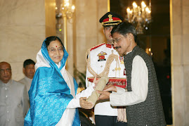 Dr. Kiran Seth, our founder chairman is receiving Padma Shri award from the President of India.