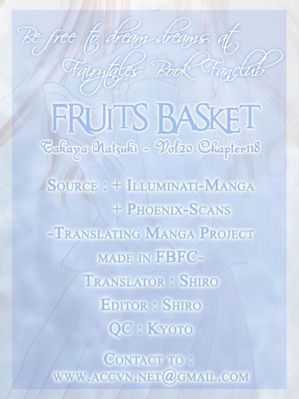Fruits Basket chap 118 - Trang 1