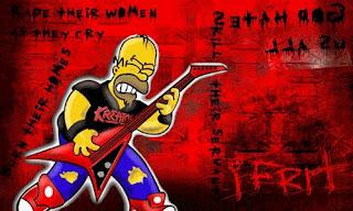 Homero con polo de Kreator