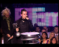 Emre Aydin at the MTV Music Awards 2008