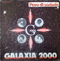 Cover Album of Galaxia 2000 - Peso di sodade [Hernandez records 2432]
