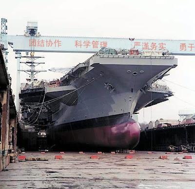 nouveau porte-avions chinois