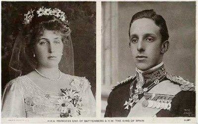 Alphonse XIII et Victoria-Eugénie