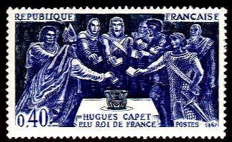 Hugues Capet élu à Senlis