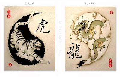 le tigre et le dragon, palais célestes opposés