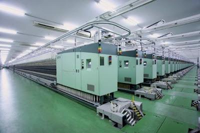 machines textiles allemandes en batterie