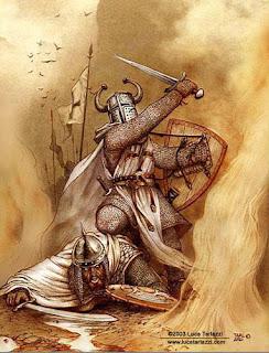chevalier croisé