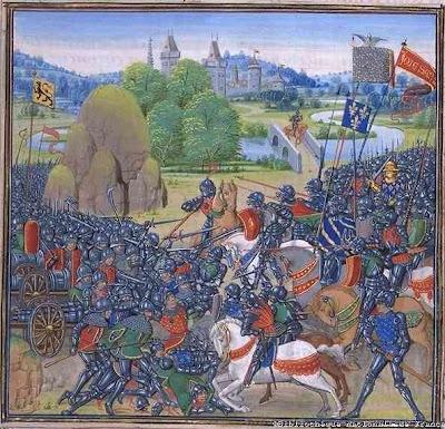 enluminure armée de Charles 7