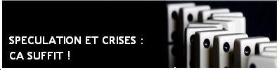 bannière spéculation et crises