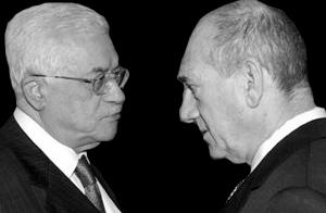Olmert et Abbas