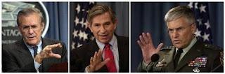 rumsfeld, wolfowitz et casey