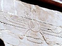 bas-relief zaratoustra