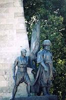 statue de l'amiral Barberousse à Istanbul
