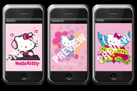 hello kitty pc wallpaper. Hello Kitty iPhone wallpapers for your phone!