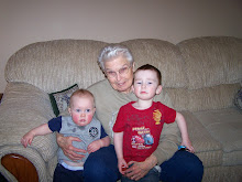 grandma rosalind with connor and michael