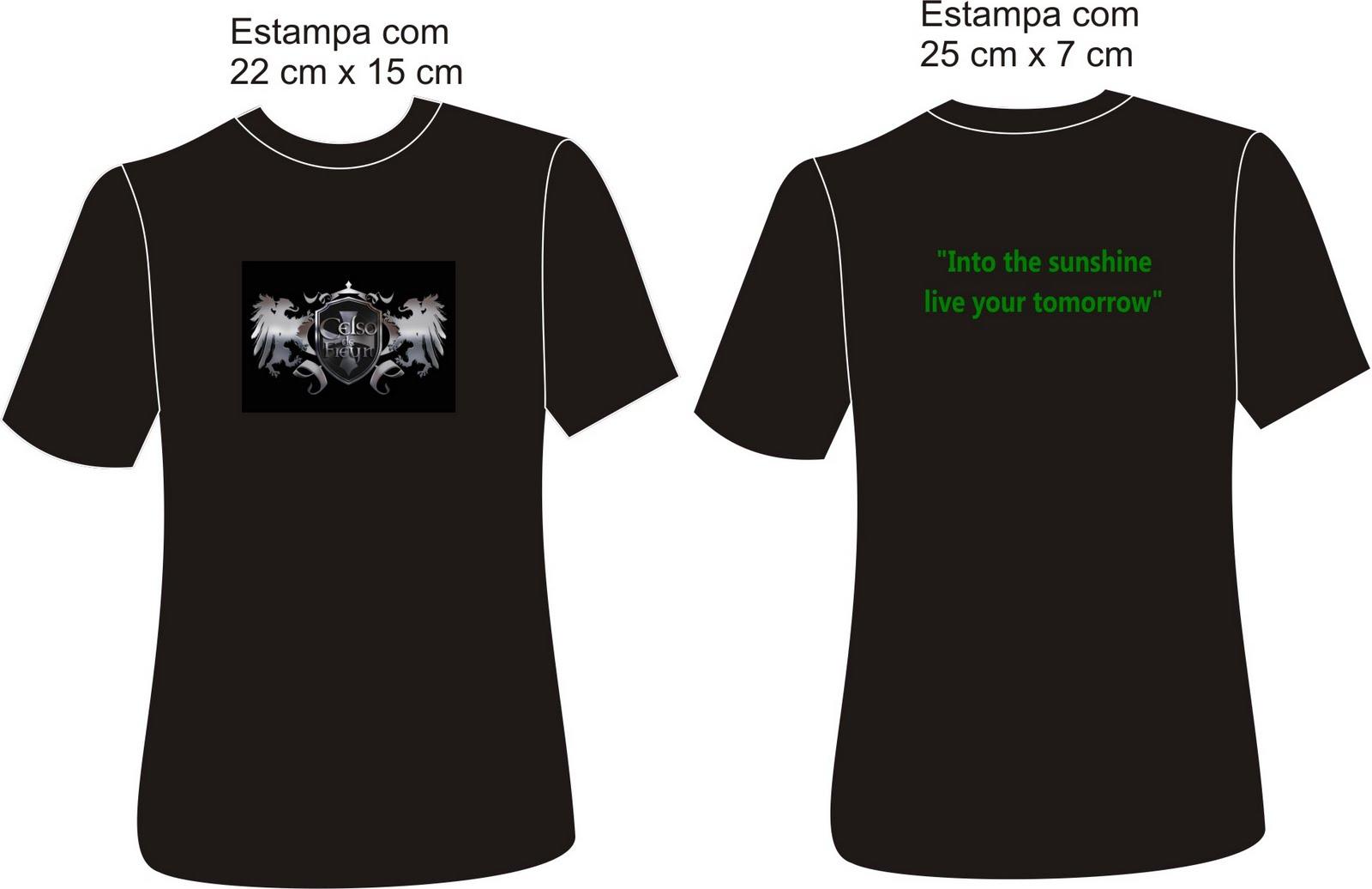 Interessados em adquirir camisetas da banda Seven Horizons entre em ...
