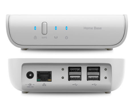 belkin home base 2 Belkin Home Base: Print, Share, and Back Up Files Wirelessly