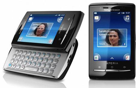 sony ericsson xperia x10 keyboard. Sony Ericsson Xperia X10