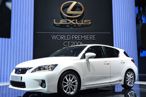 lexus ct200h 0 Lexus CT200h: The first hybrid car from Lexus